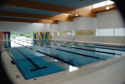 ayuntamiento de lugo visita do alcalde a nova piscina de