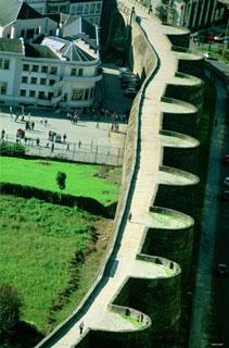 Fotografía de la muralla de Lugo