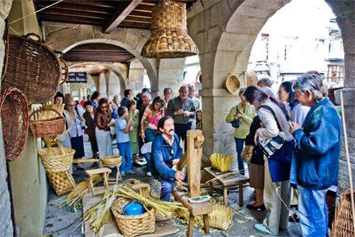 Fotografía de la feria de Artesanía de Lugo